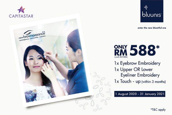 bluunis x CapitaStar RM588 Promotion