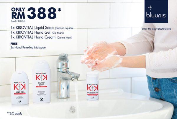 bluunis Hand care KIROVITAL