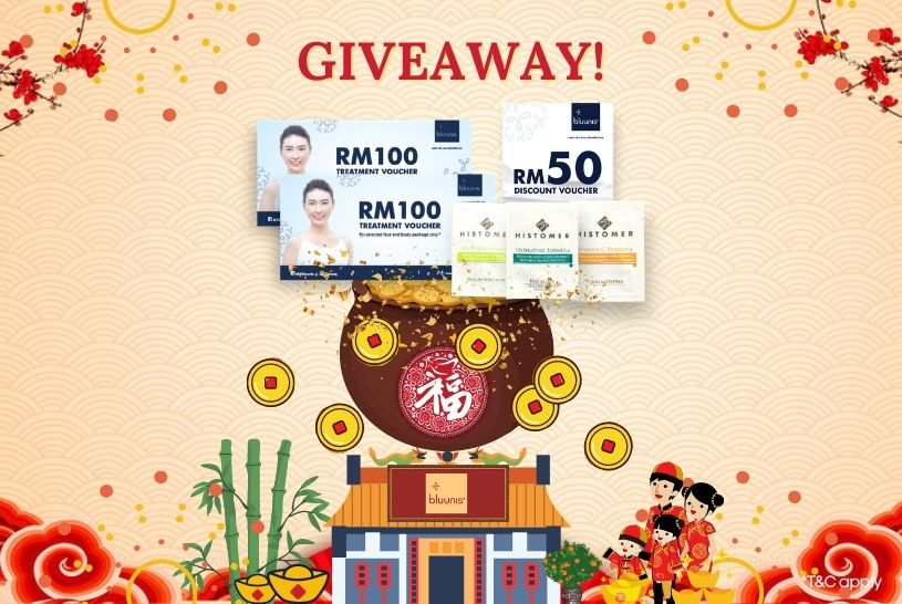 bluunis CNY Giveaway Prize love Contest