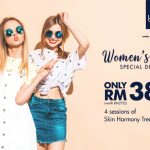 bluunis beauty salon facial promotion