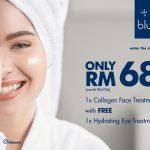 bluunis facial treatment promotion hydrating collagen deals promotion offer