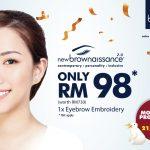 bluunis Eyebrow Embroidery promotion